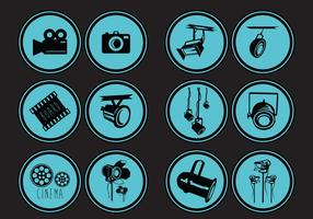 Hollywood lichten icoon