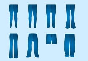 Gratis Blue Jeans Vector