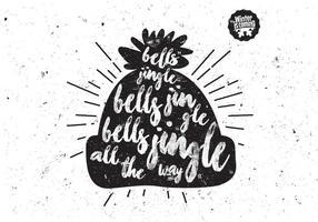 Jingle Bells Hat Vector
