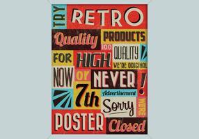 Retro winkel teken vector
