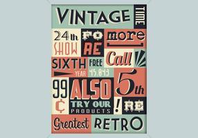 Vintage winkel teken vector