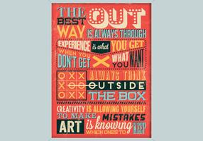 Creativiteit Inspirational Poster