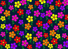 kleurrijk bloemenpatroon vector