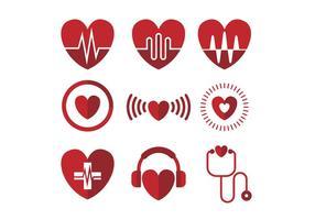 Gratis Heart Icon Vector