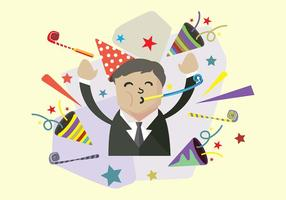 Party blower vector