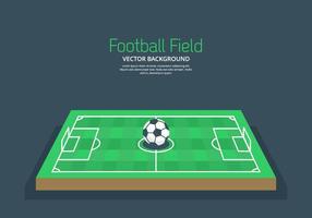 Voetbalveld Achtergrond vector
