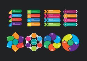 Infografische elementen vector