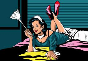Sexy Franse Maid