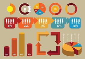 Element En Pictogram Van Infografisch vector