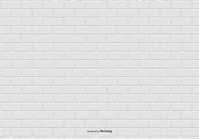 Witte Bakstenen Patroon Achtergrond vector