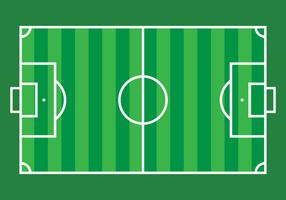 Voetbalveld Vector