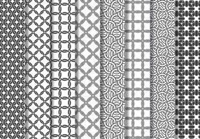 Kettingpostpatroon vector