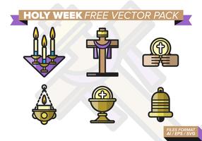 Heilige Week Gratis Vector Pack