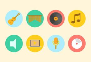 Gratis Muziek Vector Collectie