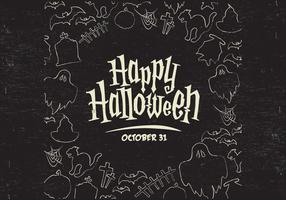 Halloween grens vector