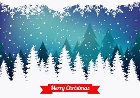Vrolijke Kerst Achtergrond vector