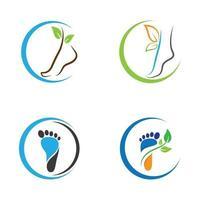 voetverzorgingsset vector