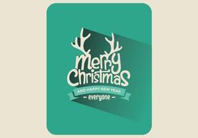 Kerst speelkaart vector
