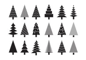 Sapin Pictogrammen Vector