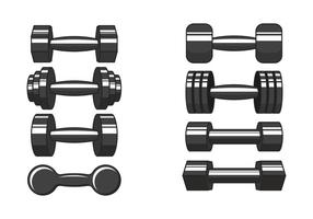 Dumbell Vector Pictogrammen
