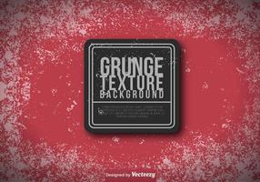 Rode Grungy Achtergrond - Vector Sjabloon