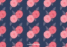 Gratis Camellia Vector Patroon