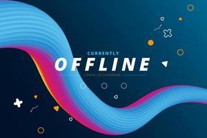 momenteel offline mengvormpagina