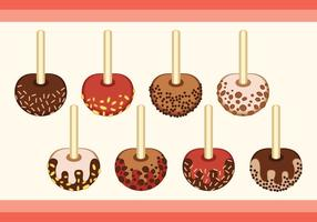 Toffee Sprinkle Collection vector