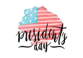President's Day Illustration vector