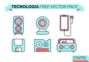 Tecnologia Gratis Vector Pack