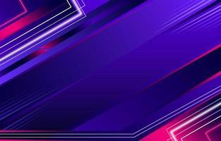 abstracte neonlichtenachtergrond vector