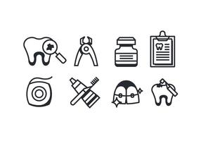 tandarts pictogrammen
