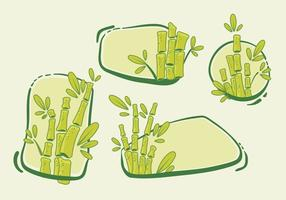 Banner Bamboo Vector Pack