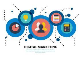 Gratis Social Media Marketing VectorElementen vector