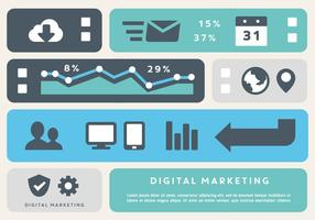 Gratis Digital Marketing Business Vector Elements