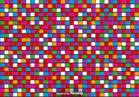 Vector 3D Colorful Tiles - Vector Abstracte Achtergrond