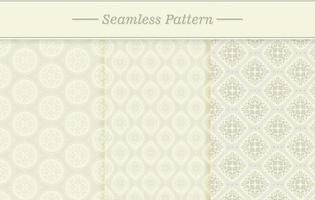 naadloze textuur set vector
