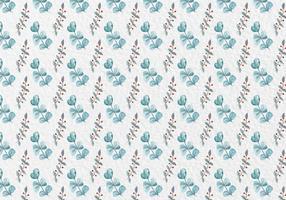 Gratis Vector Aquarel Patroon van Bladeren