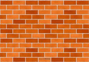 Vector Brick Achtergrond van de Textuur