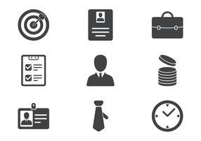Zakelijk Icon Set vector