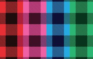 Kleurrijke Flanel Vectoren