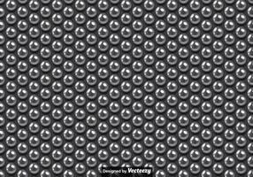 Vector Naadloos Patroon Van Metalen Ballen