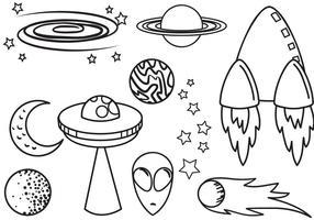 Gratis Space 2 vectoren