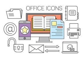 Gratis Office Icons vector