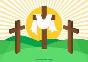 Gratis Vector Heilige Week Achtergrond