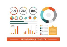 Gratis Vector Infographic Elements