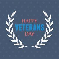 gelukkige veteranendag. ons militaire strijdkrachten embleem