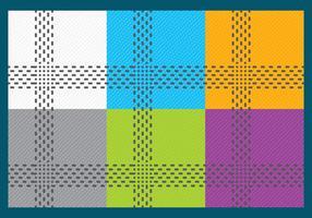 Versleten Fabric Vectoren