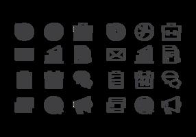 Zakelijke Icons Vector
