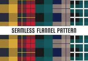 Naadloos Flanel Patroon
